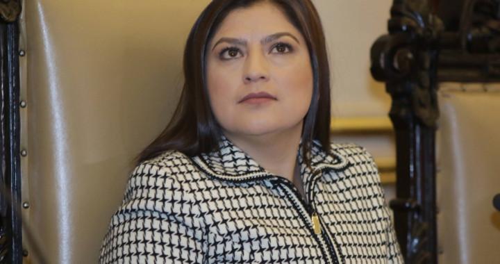 Pide Claudia Rivera licencia como edil de la capital
