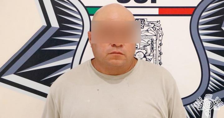 Detienen a presunto distribuidor de droga en San Francisco Ocotlán