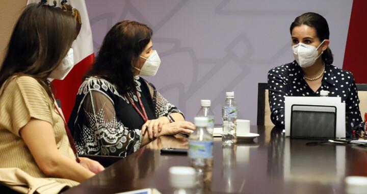 Dialoga Segob y Protección Civil con integrantes de la industria de banquetes