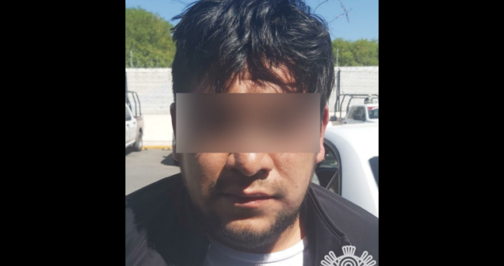 Detienen a presunto asaltante y narcomenudista en Tehuacán