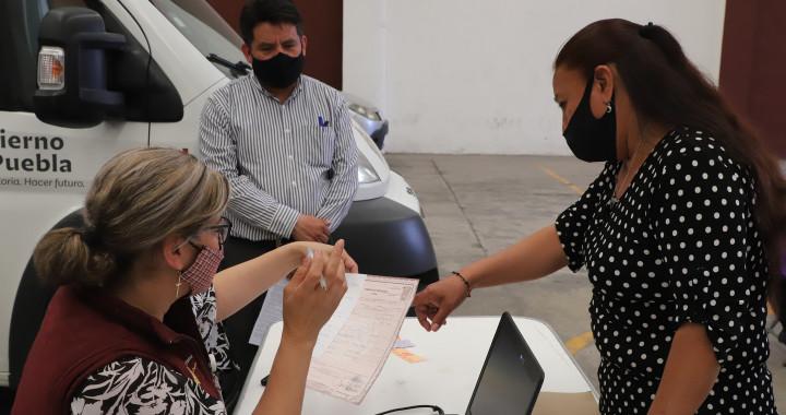 Registro Civil del SEDIF brinda atención a pobladores de San Pablo Xochimehuacan