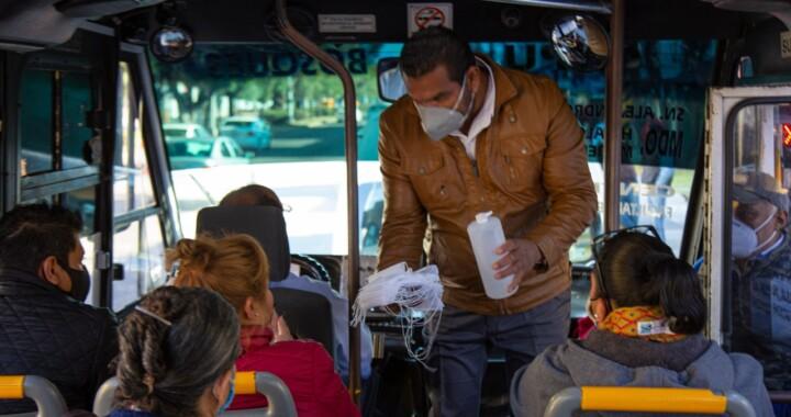 Supervisan más de 2 mil unidades de transporte público