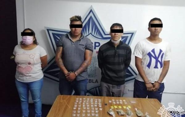 Detienen a cuatro presuntos narcomenudistas en Misiones de San Francisco