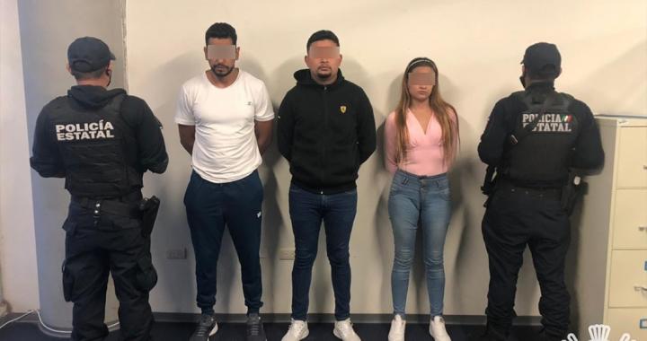 Detienen a tres presuntos asaltantes en la Orizaba-Puebla