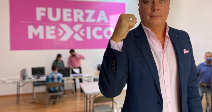 Fuerza por México cambia de abanderado a la alcaldía de Puebla