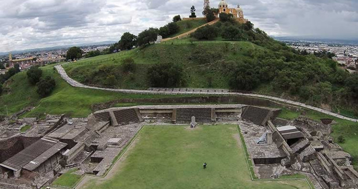 Reabren zonas arqueológicas de Cholula y Yohualichan