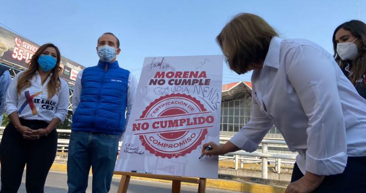 Claudia Rivera no cumplió con la modernización en zona CAPU: Ana Tere Aranda