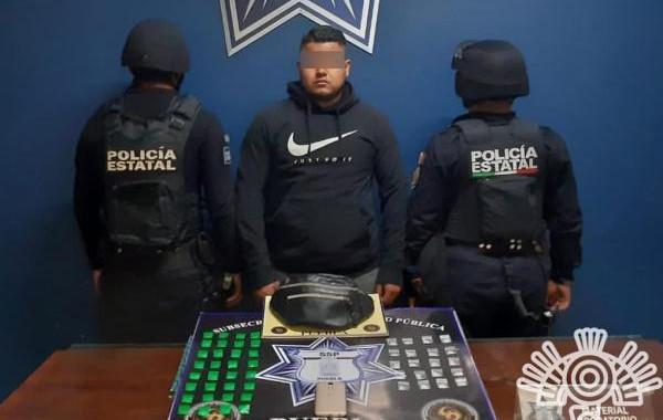 Policía Estatal captura a presunto narcovendedor