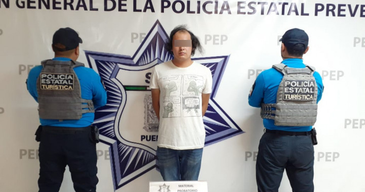 Detienen a presunto vendedor de droga en Ciudad Judicial