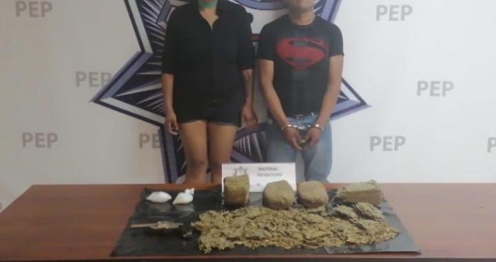 Caen dos presuntos narcomenudistas en la colonia Humboldt