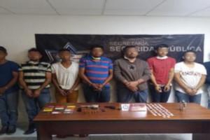 Capturan en Nopaculan a ocho presuntos delincuentes originarios de Jalisco