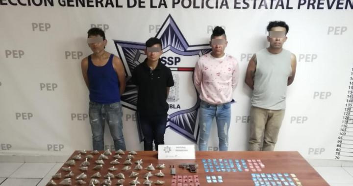 """Detienen a cuatro presuntos narcovendedores de """"El Pelón del Sur"""""""