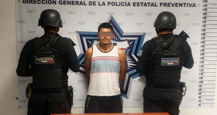 Detienen a presunto narcomenudista, secuestrador y extorsionador en Huauchinango