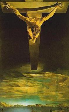 Cristo de San Juan de la Cruz: Salvador Dalí