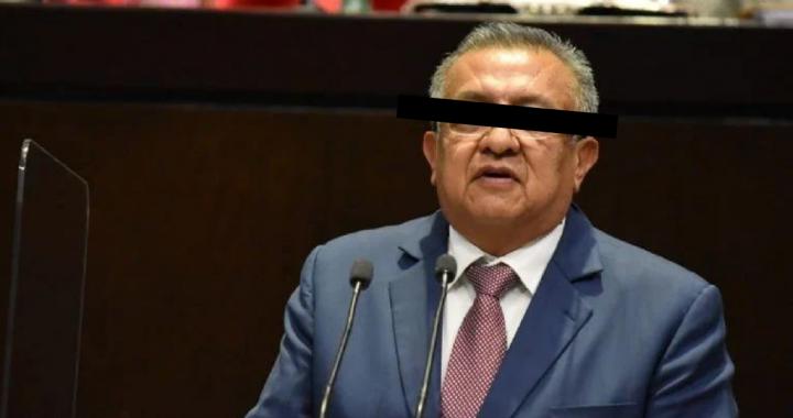 Detienen a diputado federal de Morena por presunto abuso sexual contra un menor de edad