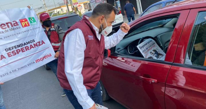 René Sánchez Galindo arranca campaña por la diputación federal del distrito 12
