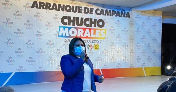 """Coalición """"Va por México"""" inicia campaña en Tepeaca"""