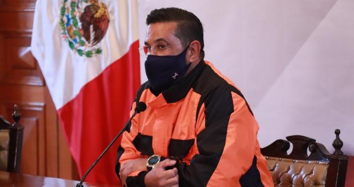 Puebla permanece en semáforo rojo: Protección Civil