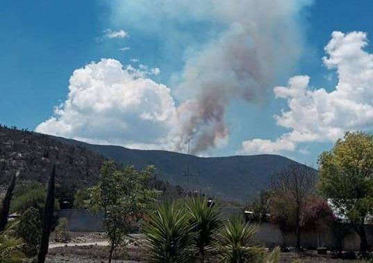 Se registran tres incendios forestales en Puebla