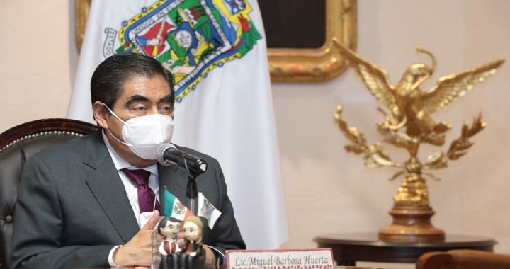 En Puebla, aún no hay condiciones de semáforo amarillo: Barbosa