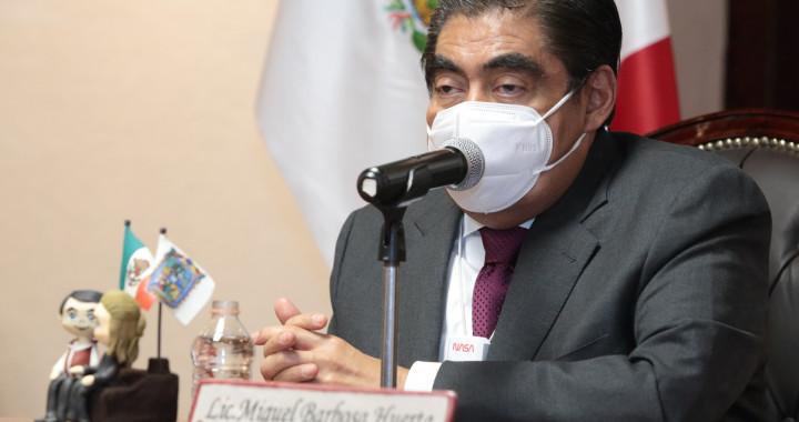 Puebla necesita justicia electoral, afirma Barbosa