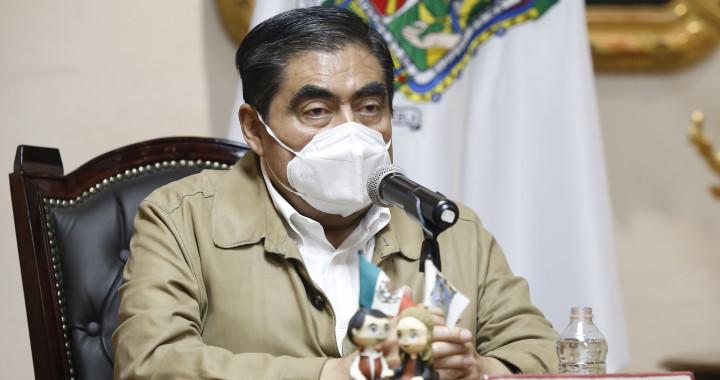Gobierno del Estado mantendrá coordinación con la Federación para regresar la seguridad a Puebla: Barbosa