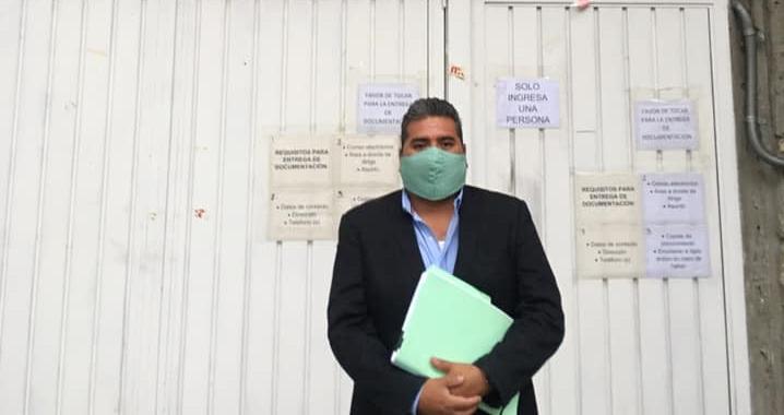 Pide Miguel Ángel Quechol con juicio JDC que TRIFE no permita registro de Karina Pérez