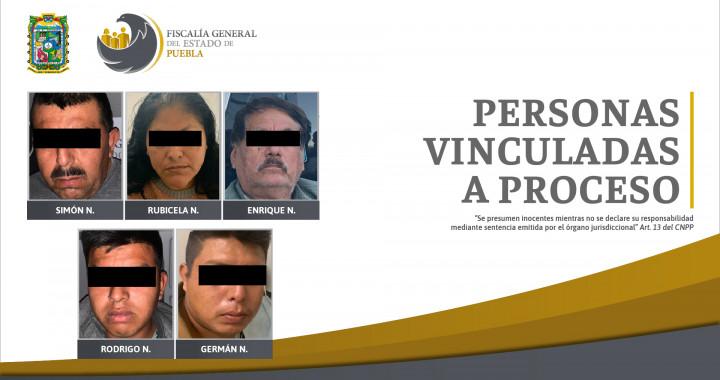 Vinculan a proceso a cinco personas por balacera en Eloxochitlán