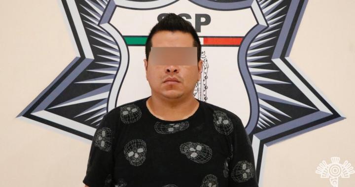Capturan a presunto distribuidor de droga al sur de la ciudad