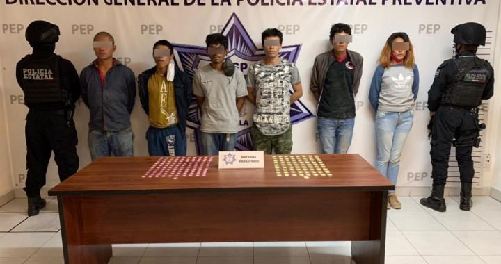 """Caen seis presuntos narcovendedores de """"El Pelón del Sur"""""""