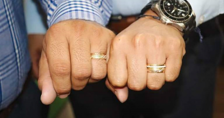 Celebran primer matrimonio igualitario en Chiautzingo