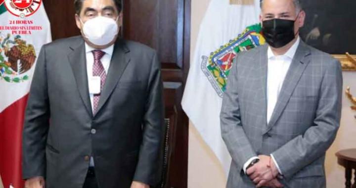 Barbosa Huerta recibe a Santiago Nieto