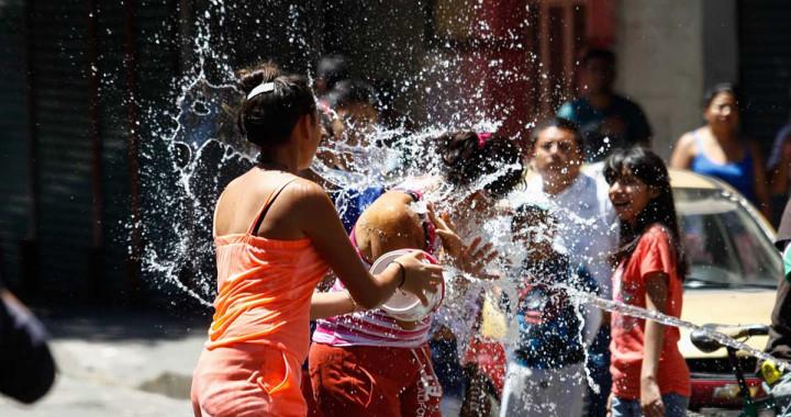 Exhortan a la ciudadanía a no desperdiciar agua en Sábado de Gloria