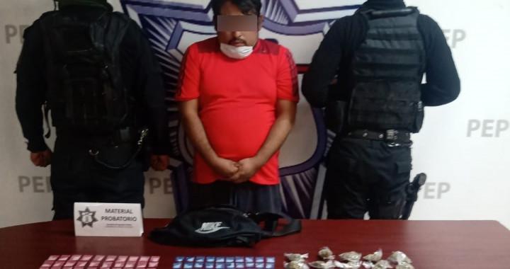 """Capturan a presunto distribuidor de armas y droga de """"La Patrona"""""""