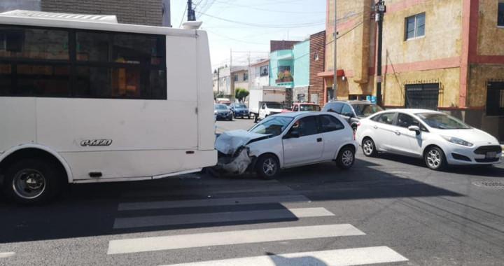 Reportan accidente automovilístico en Chulavista