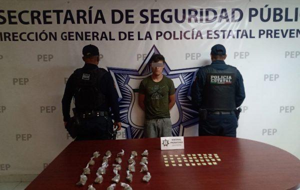 """Detienen a """"El Güero"""", presunto narcomenudista de """"El Pelón del Sur"""""""