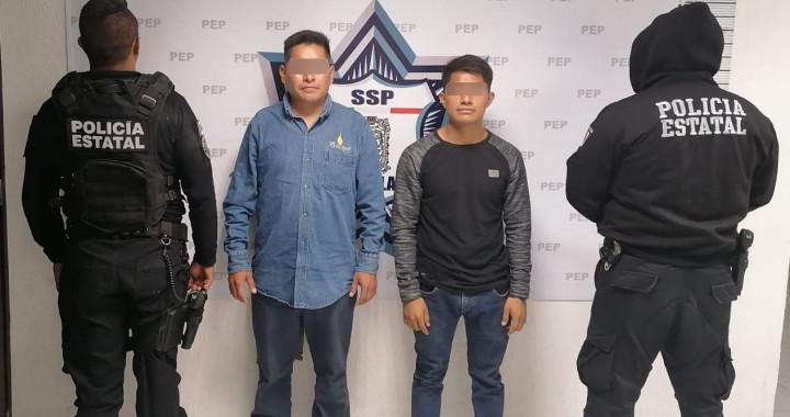 Detienen a tres presuntos huachigaseros