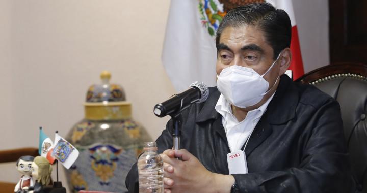 Barbosa ordena revisión de obras construidas en Puebla