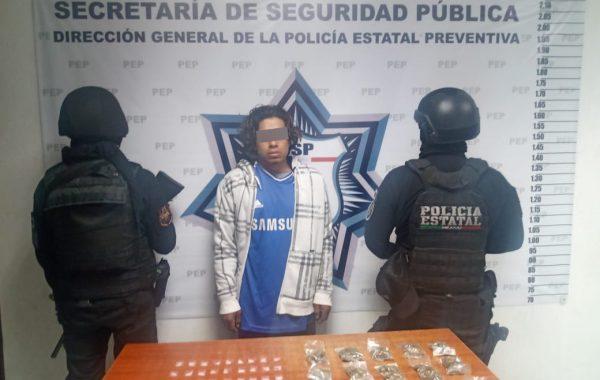 Detienen a presunto cibernarcomenudista en San Pedro Cholula