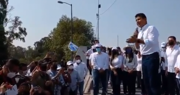 Riña entre ambulantes es herencia de Morena: Eduardo Rivera