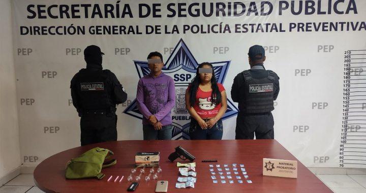 Detienen a presuntos distribuidores de droga en Cuautlancingo