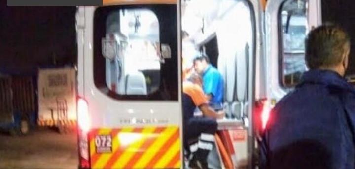 Asalto a la empresa de refrescos Pepsi; hay un hombre herido