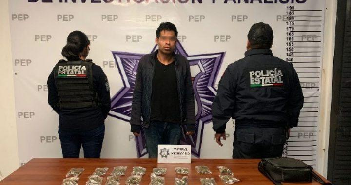 Capturan a presunto narcovendedor en la colonia Jorge Murad Macluf