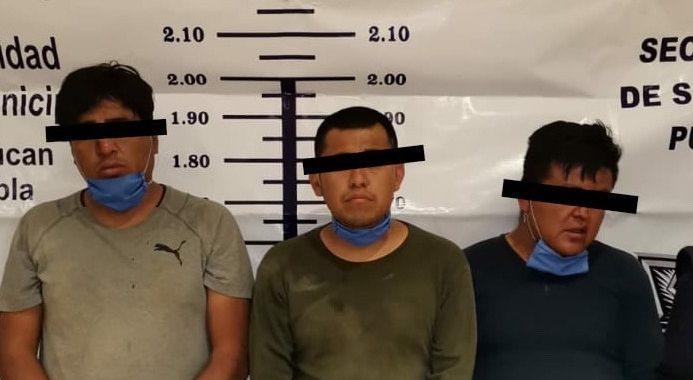 """Detienen a tres presuntos integrantes de la banda de """"Los Xolalpa"""""""