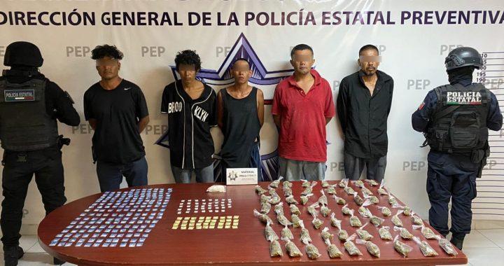 """Capturan a seis presuntos integrantes de """"Los Rojos"""""""