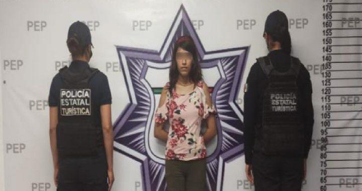 Detienen a presunta narcovendedora en el Centro Histórico