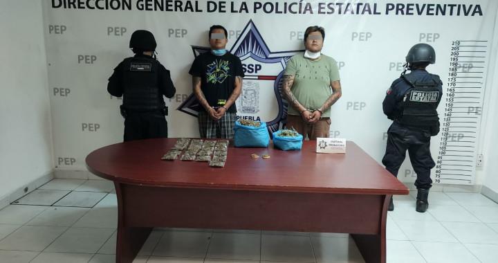Detienen a dos presuntos narcovendedores en La Libertad