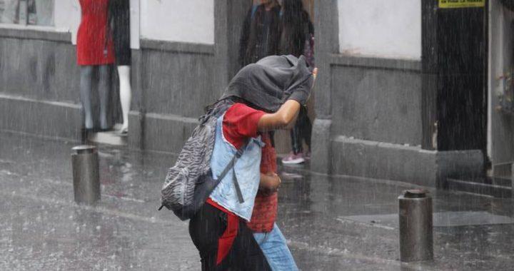 Se prevén lluvias muy fuertes en Puebla