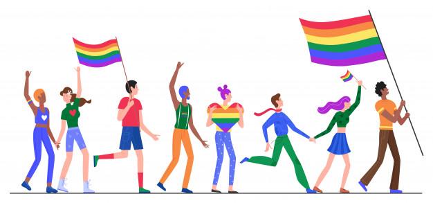 La cueva de la naturaleza y los matices de la comunidad LGBT