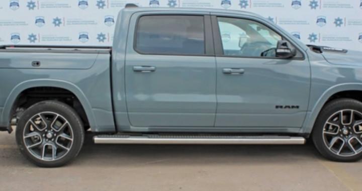 Recuperan camioneta robada en la Guadalupe Hidalgo